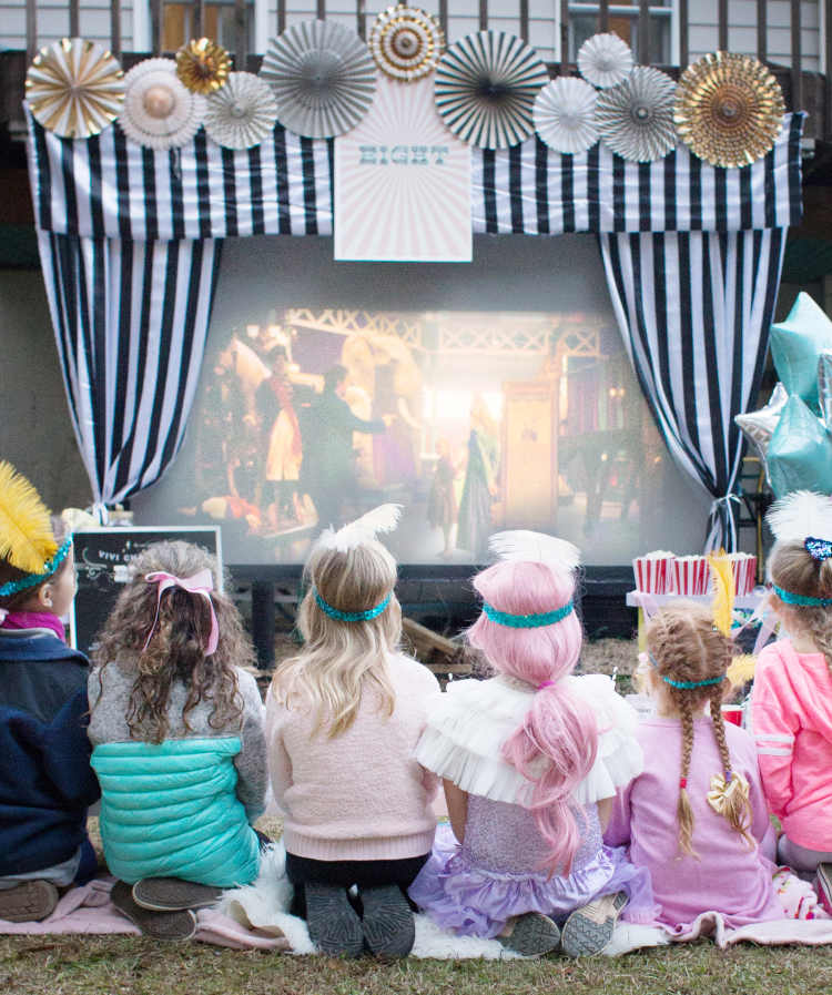 greatest showman birthday party ideas for a girl