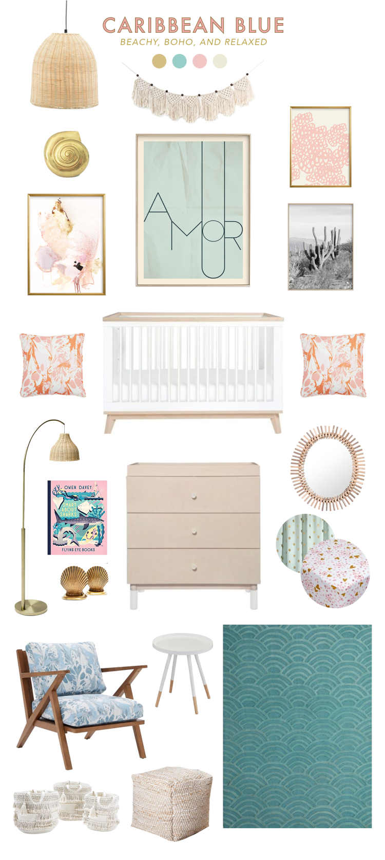 Beachy Boho Baby Room Ideas Lay Baby Lay