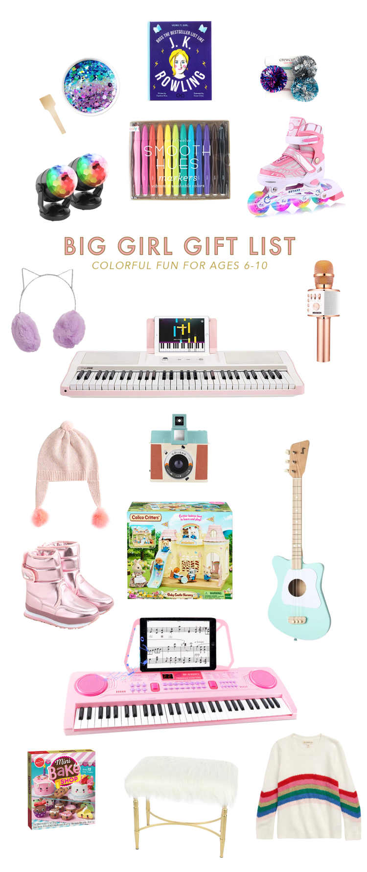 Christmas Gift Ideas For Big Girls Ages 6 10 Lay Baby Lay