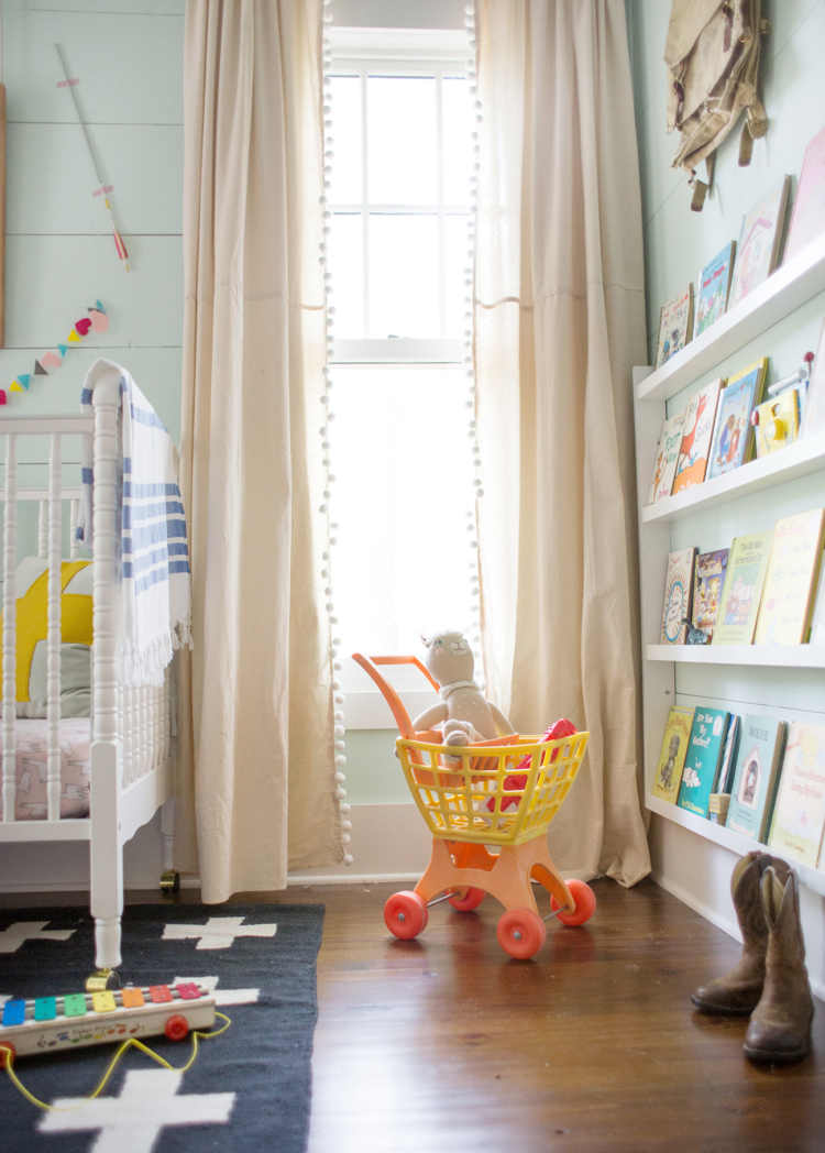 Diy Paint Dropcloth Curtains Lay Baby Lay