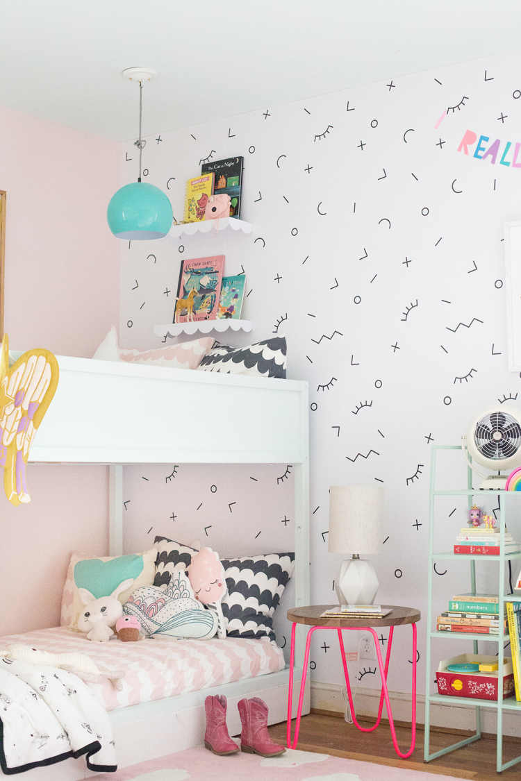 Picture of: A Shared Bedroom With Bunk Beds Lay Baby Lay