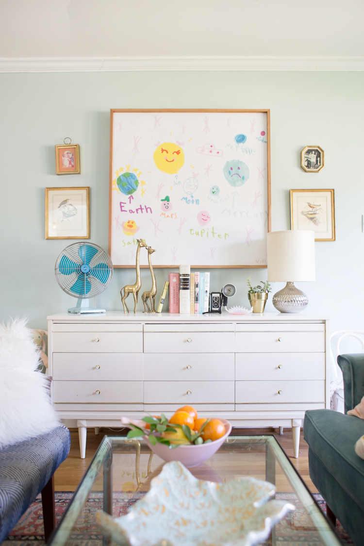Kid Friendly Living Room Ideas - Lay Baby Lay
