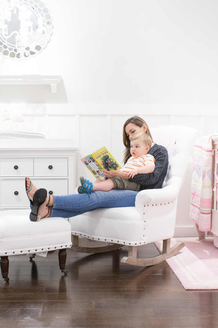 Tremendous Rocker Reviews Pottery Barn Kids Lay Baby Lay Caraccident5 Cool Chair Designs And Ideas Caraccident5Info