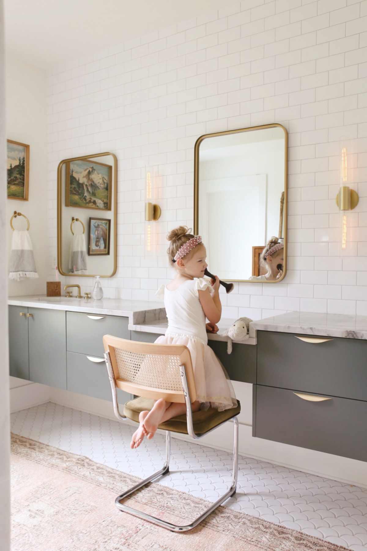 Neutral Bathroom Inspiration Lay Baby Lay
