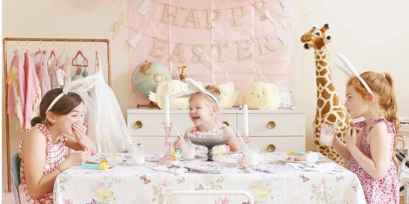 Easter Party Inspiration With Pottery Barn Kids Lay Baby Lay