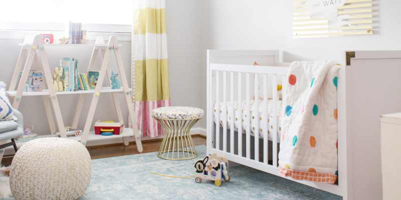 Yellow And Gray Neutral Nursery Ideas Lay Baby Lay
