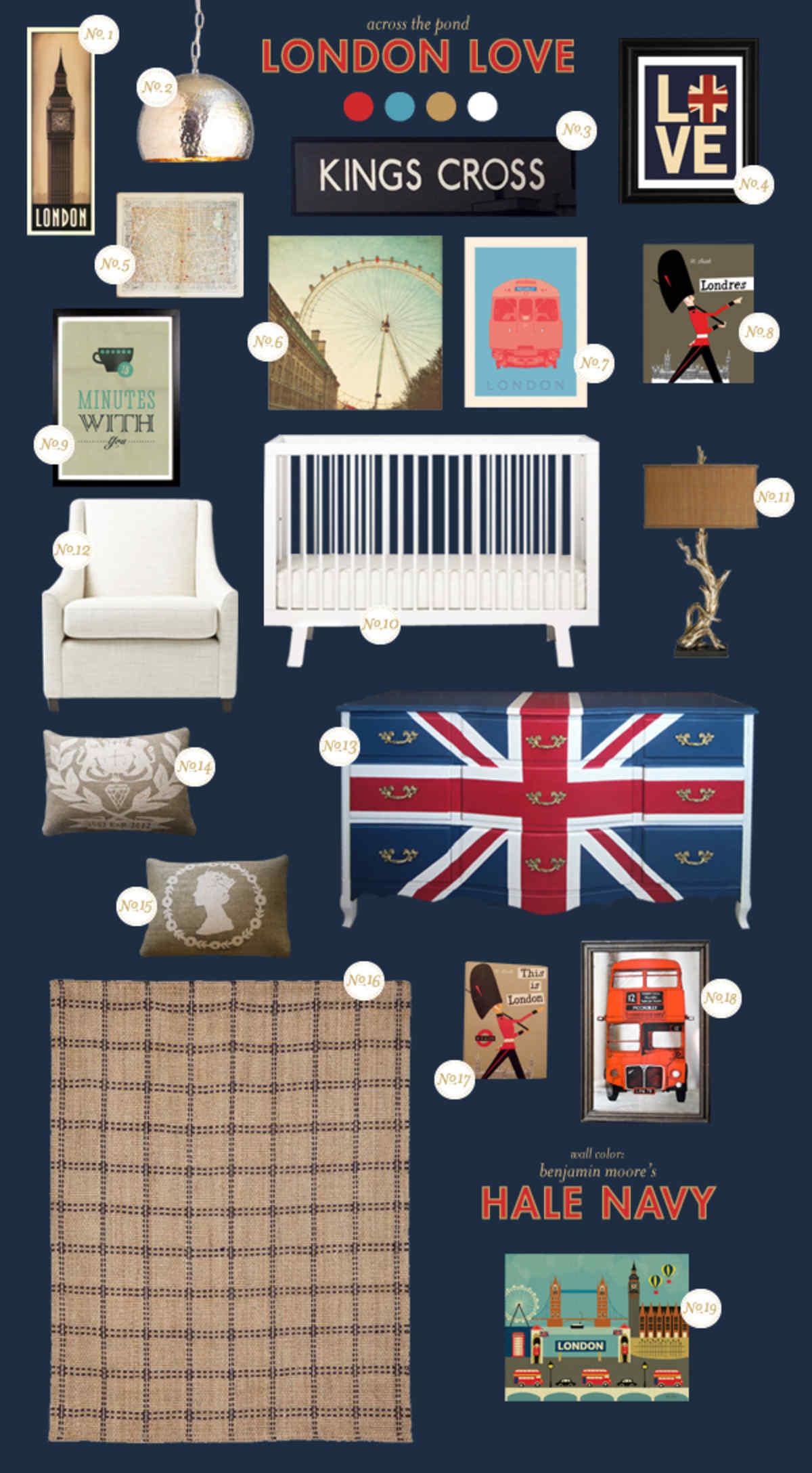 london baby room ideas