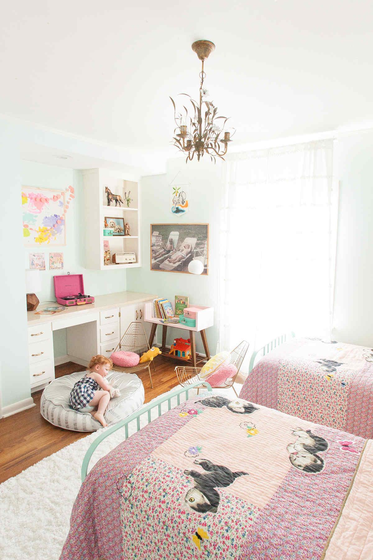 shared girls room