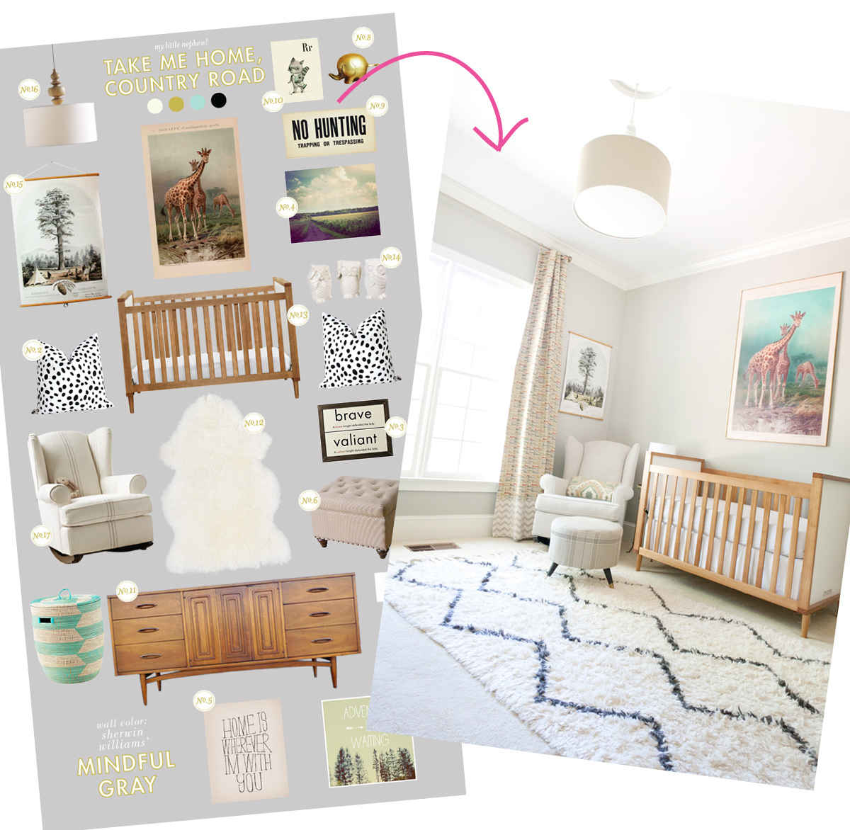Parisian Baby Nursery Design Pictures Remodel Decor And: Nursery Design Giveaway With Decorist!