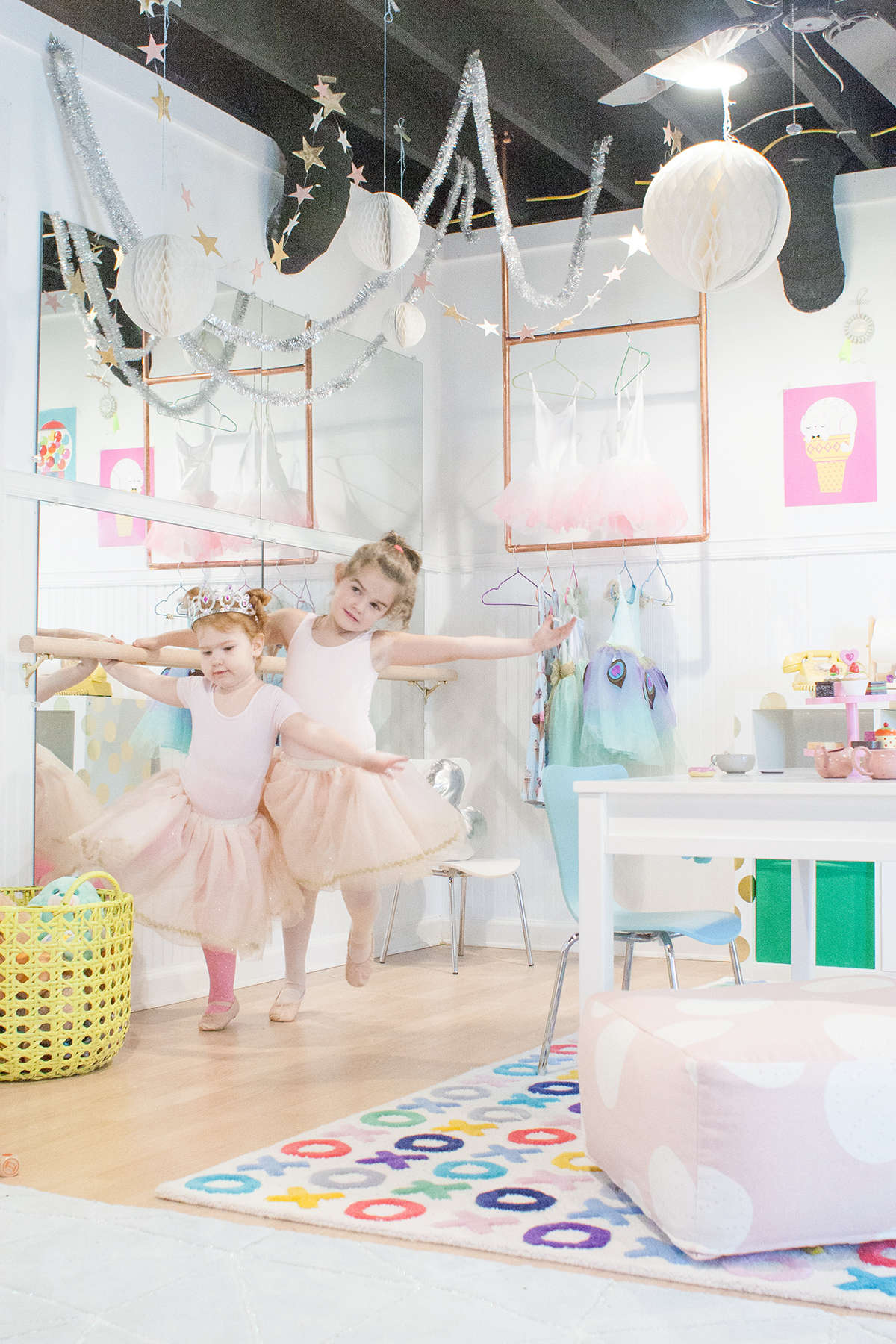 ballet studio playroom ideas
