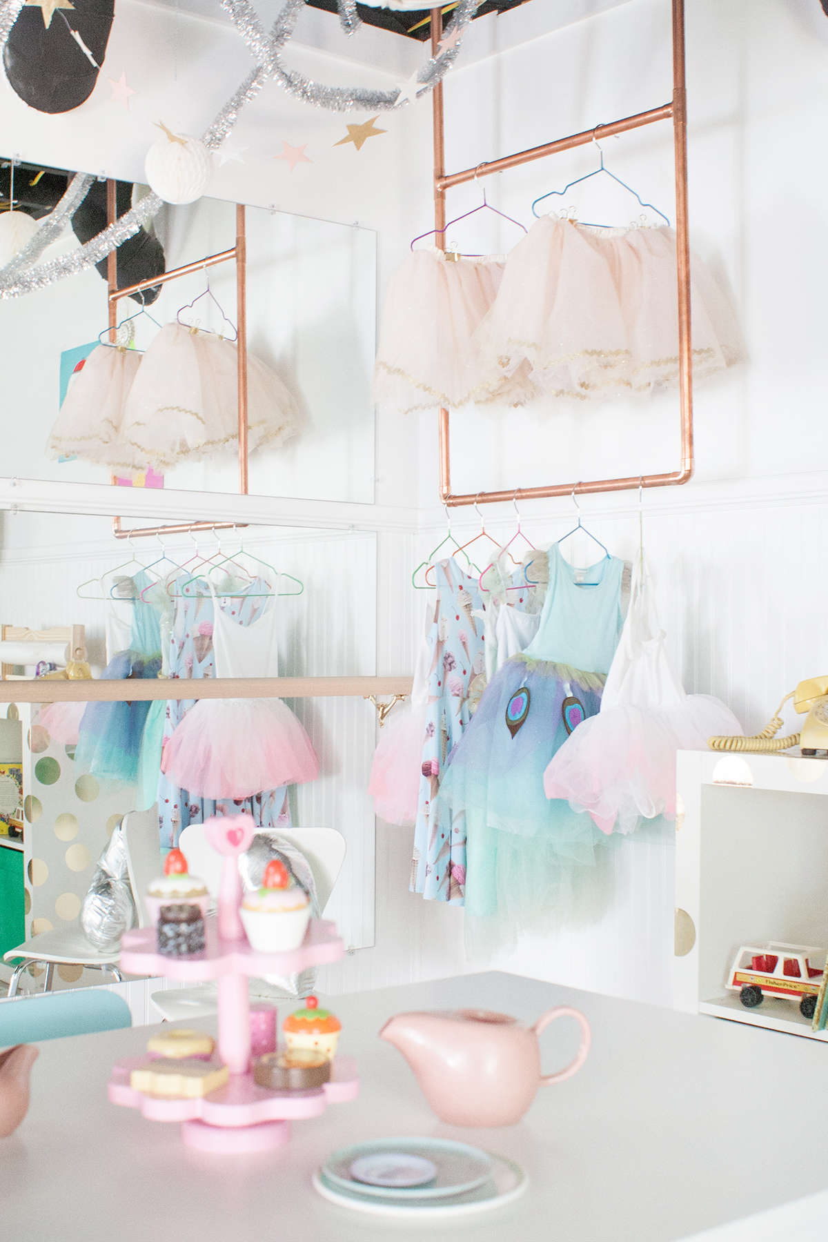 ballet barre playroom ideas