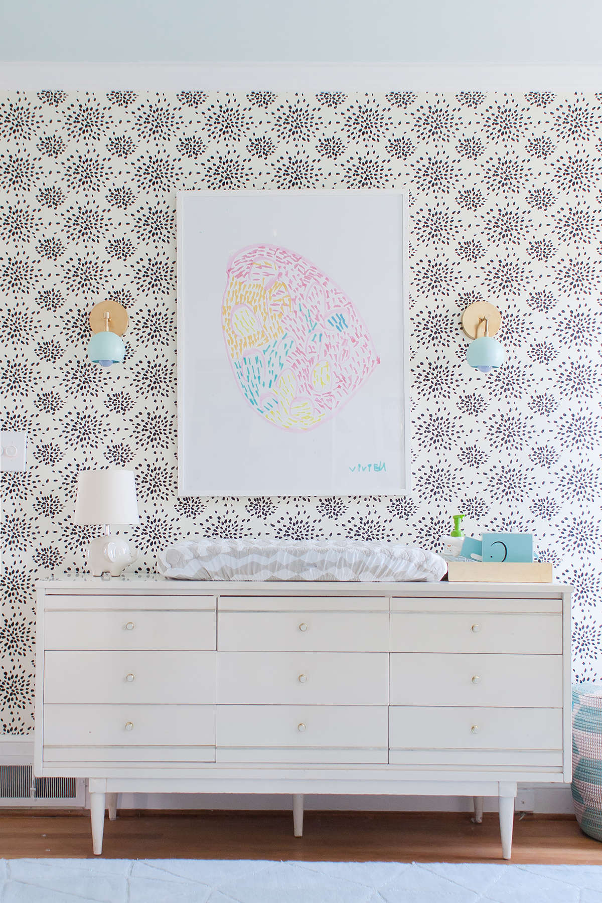 pastel baby room ideas