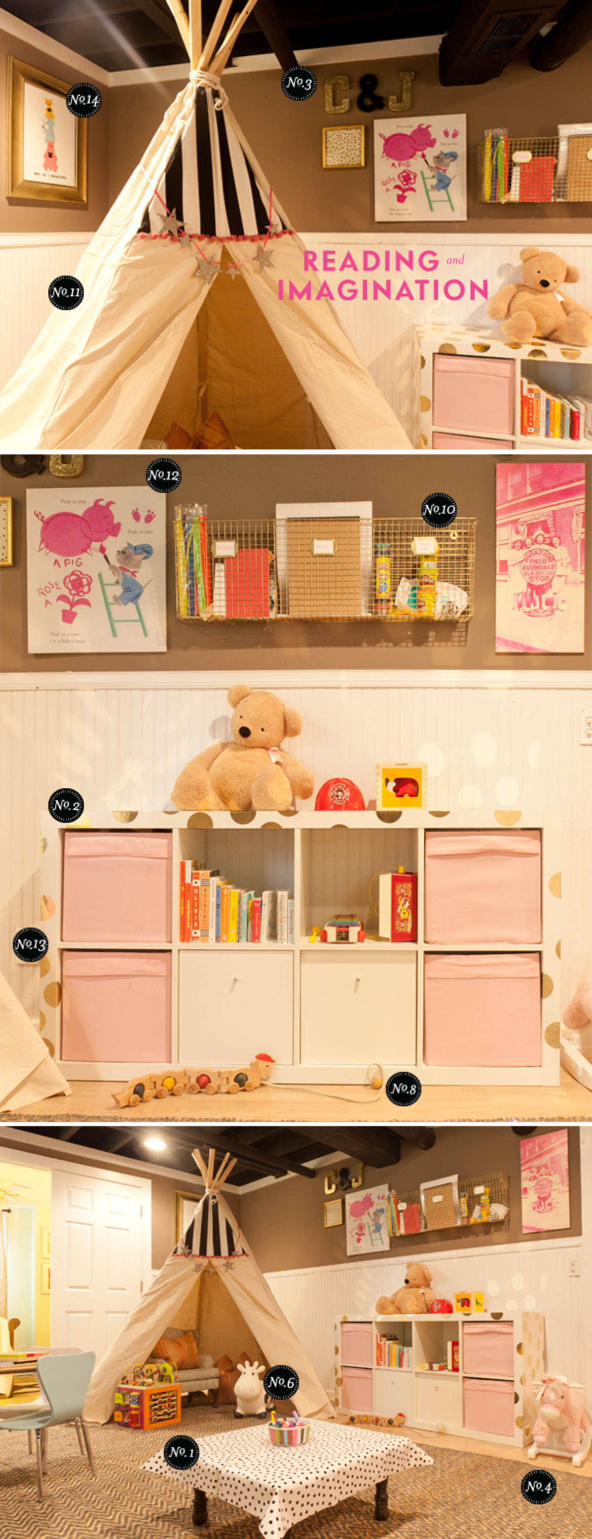 playroom ideas and inspiration