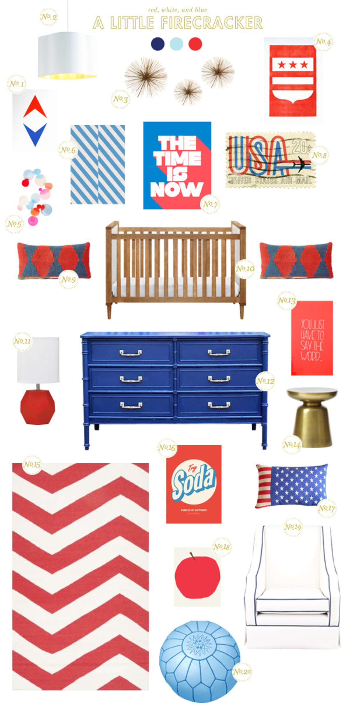 a little firecracker nursery