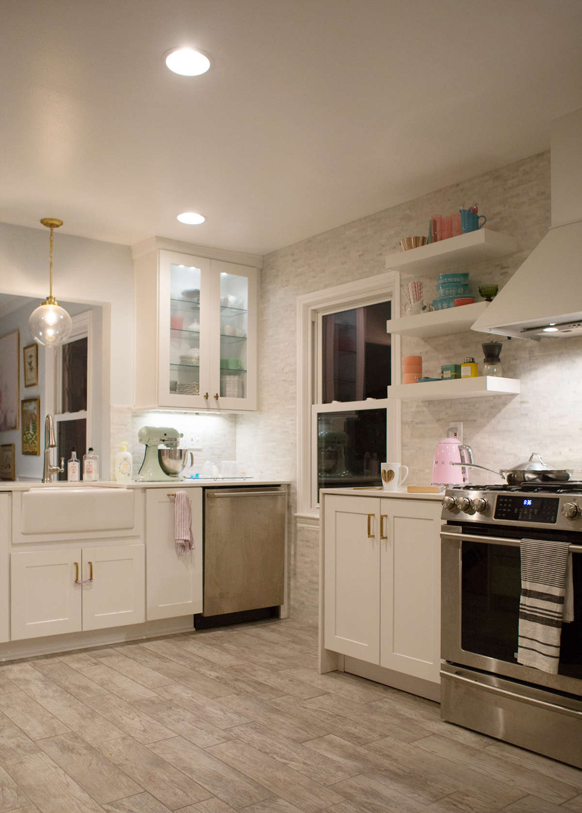 kitchen inspiration bright and white