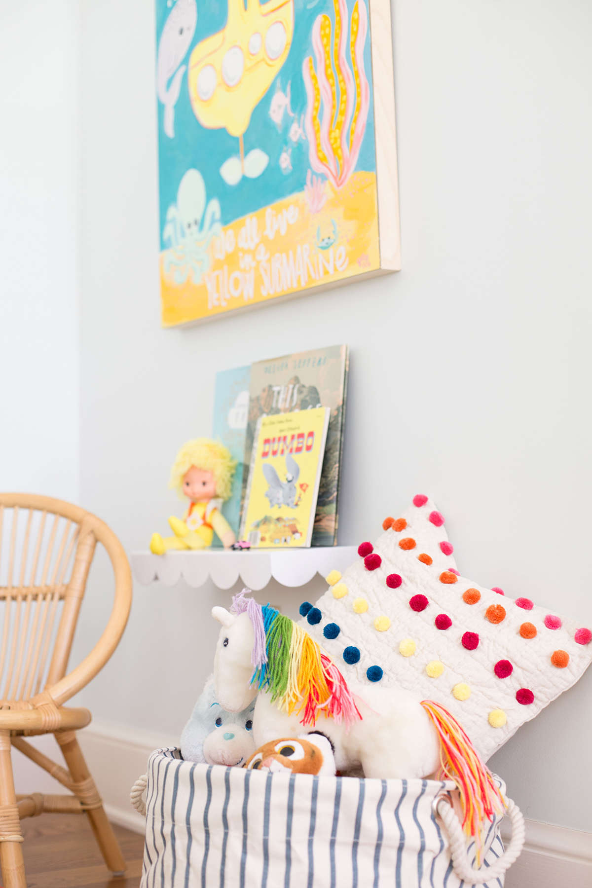 colorful shared bedroom inspiration
