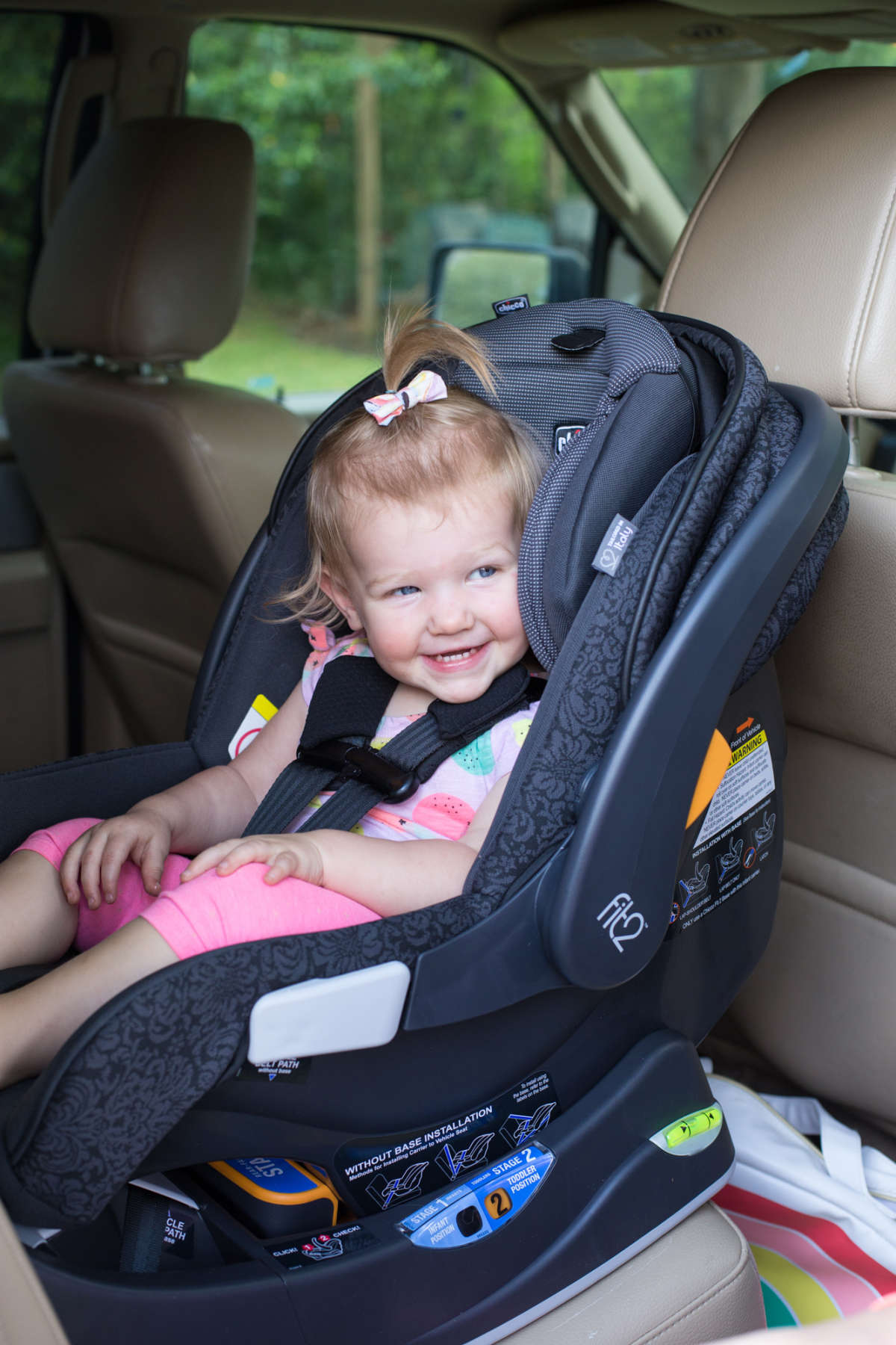 The Fit2 Car Seat That Lasts Until Baby Is 2 Lay Baby