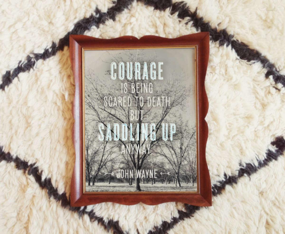 john wayne - courage