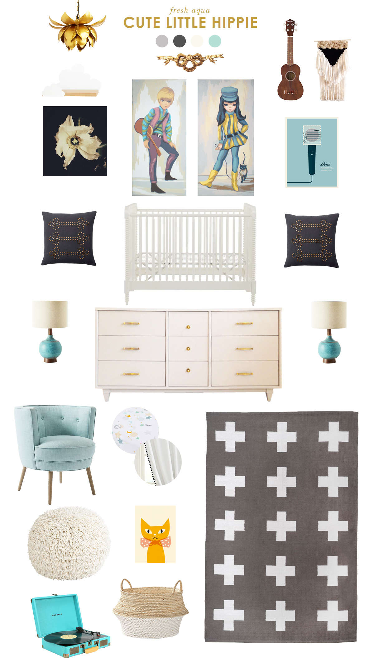 music baby room inspiration