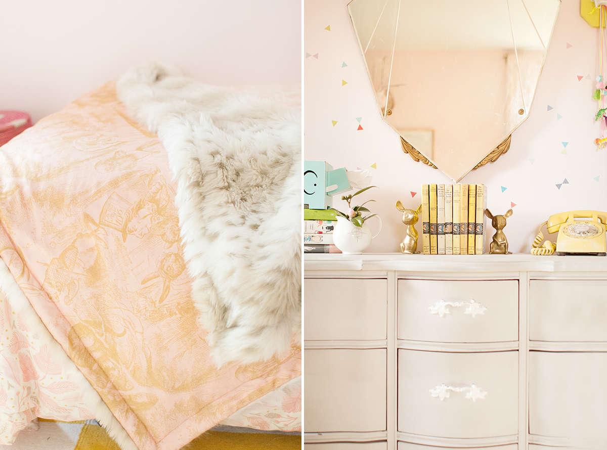 pink girl room inspiration