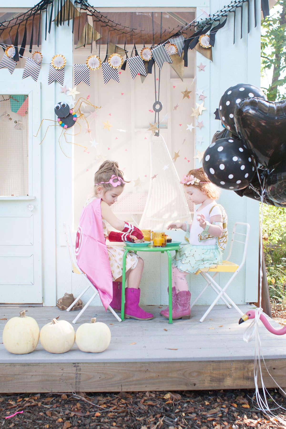 sweet halloween party decor ideas