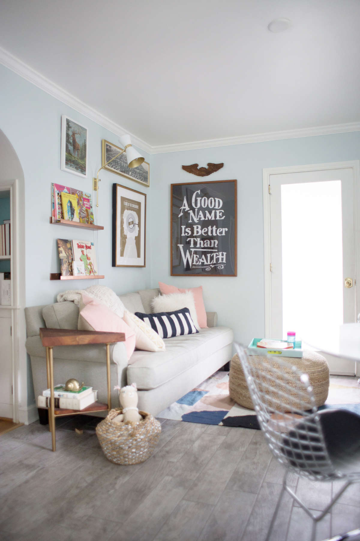kid friendly living space