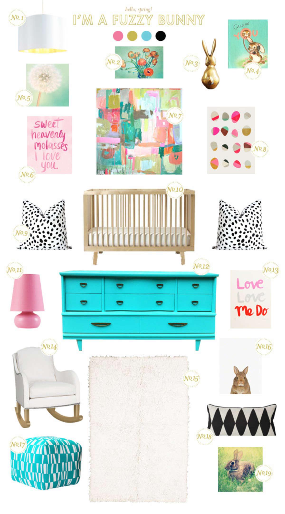 Bunny Baby Nursery Inspiration