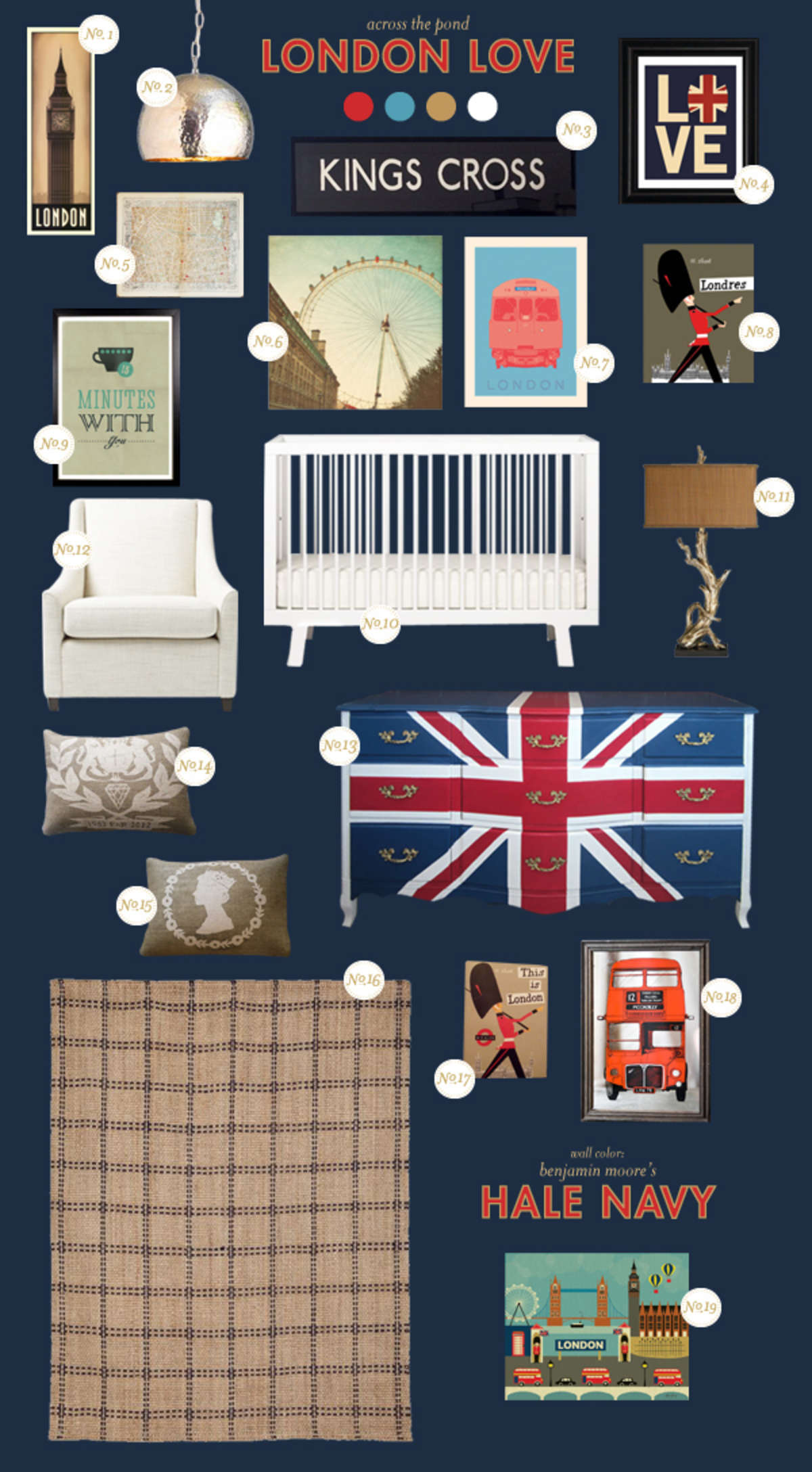 london baby room ideas