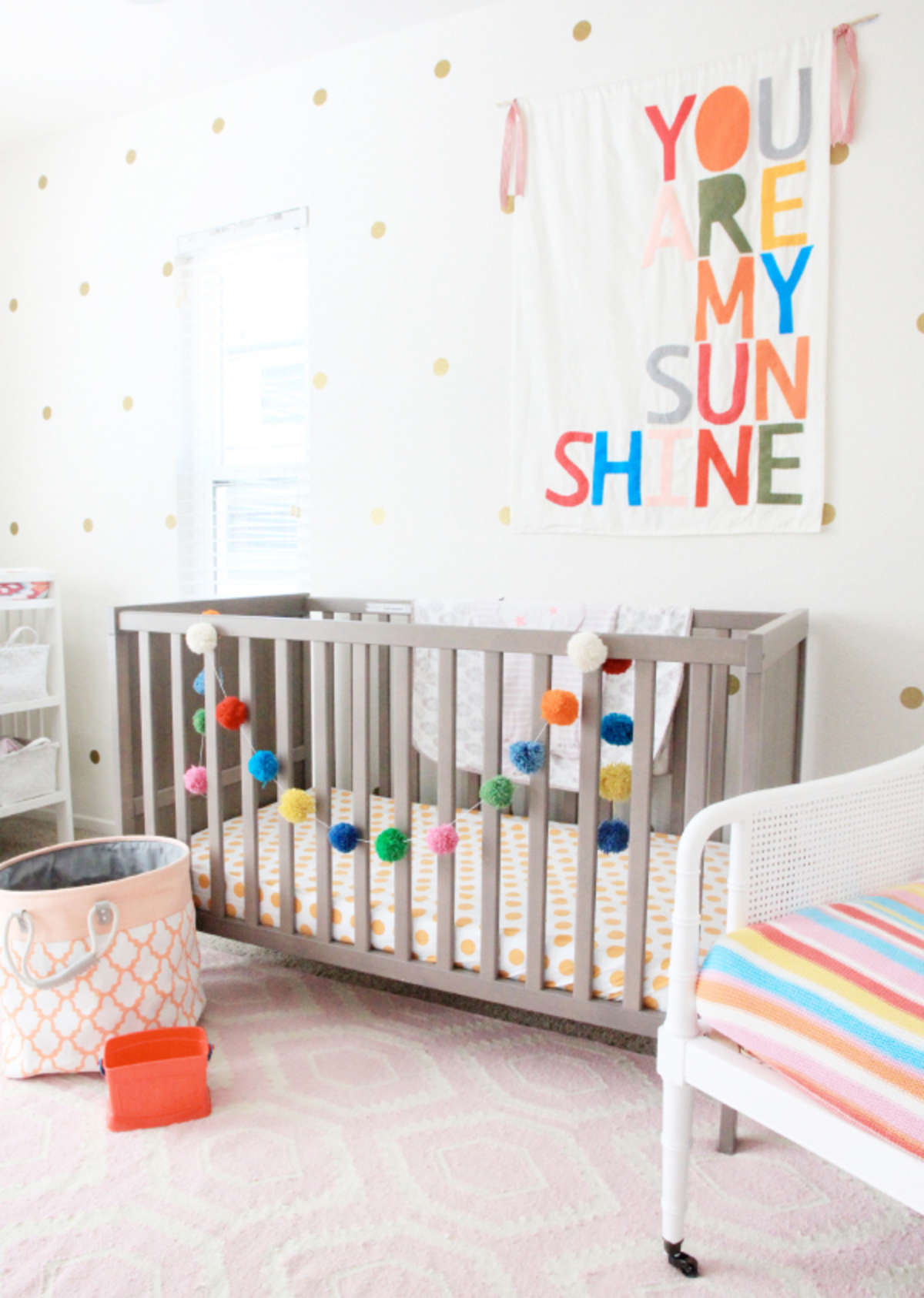 bright girl room