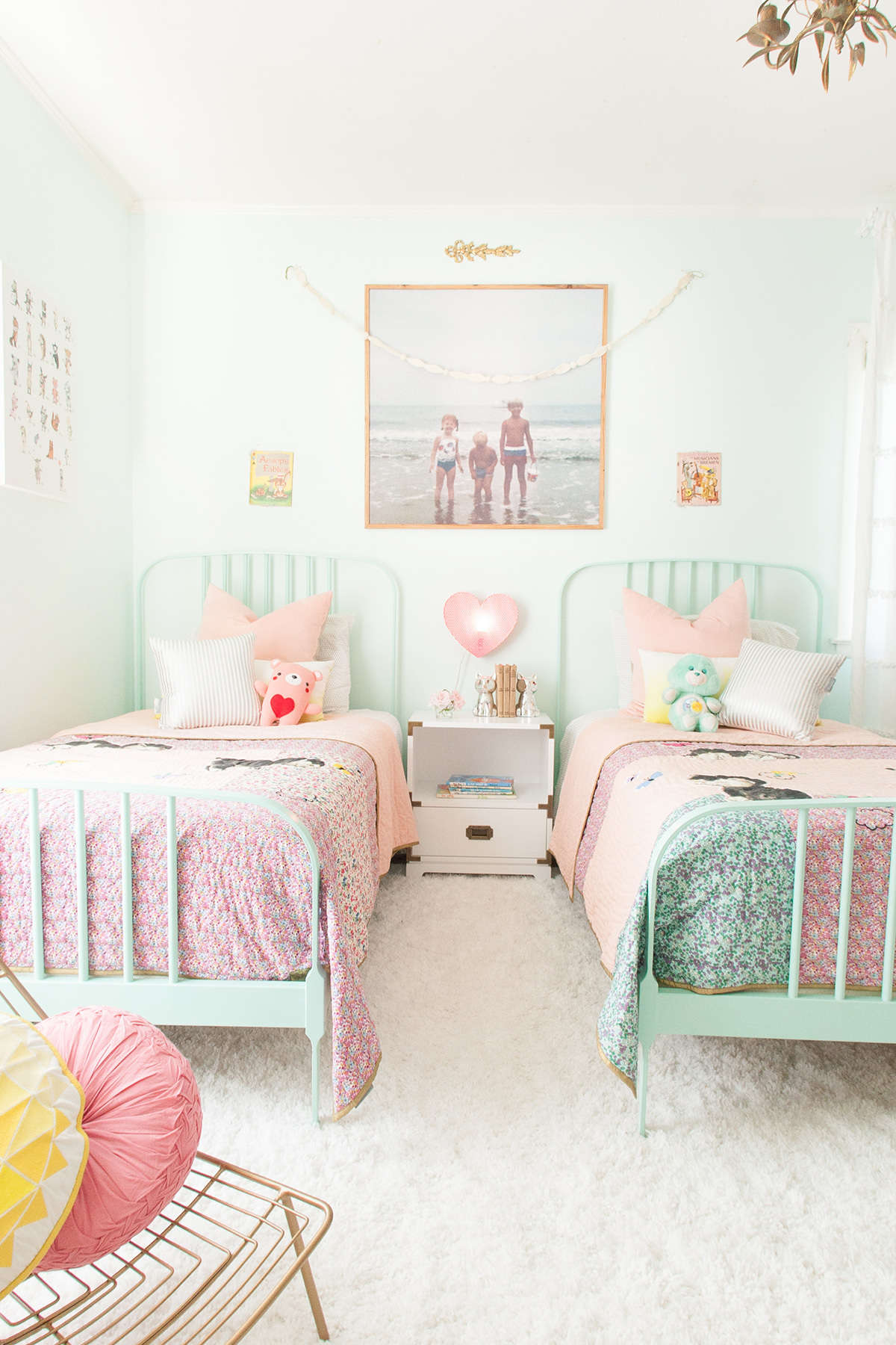 shared girl bedroom
