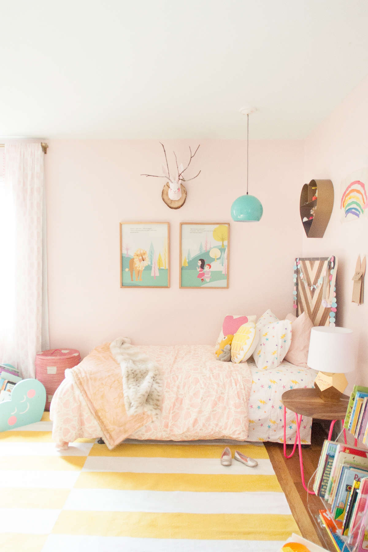 pink girl room ideas