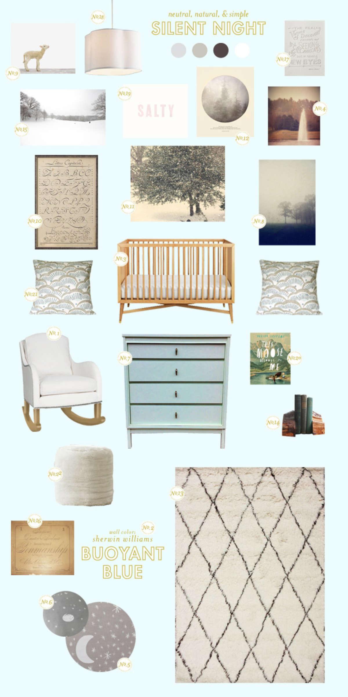 neutral baby room ideas