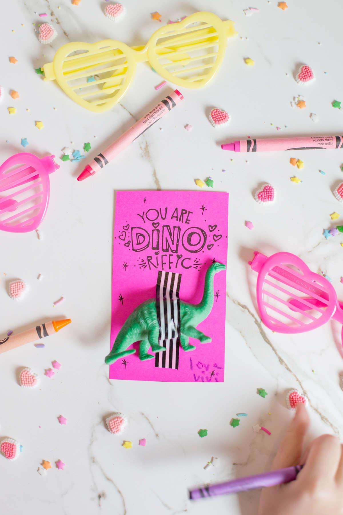 diy fun no candy valentines