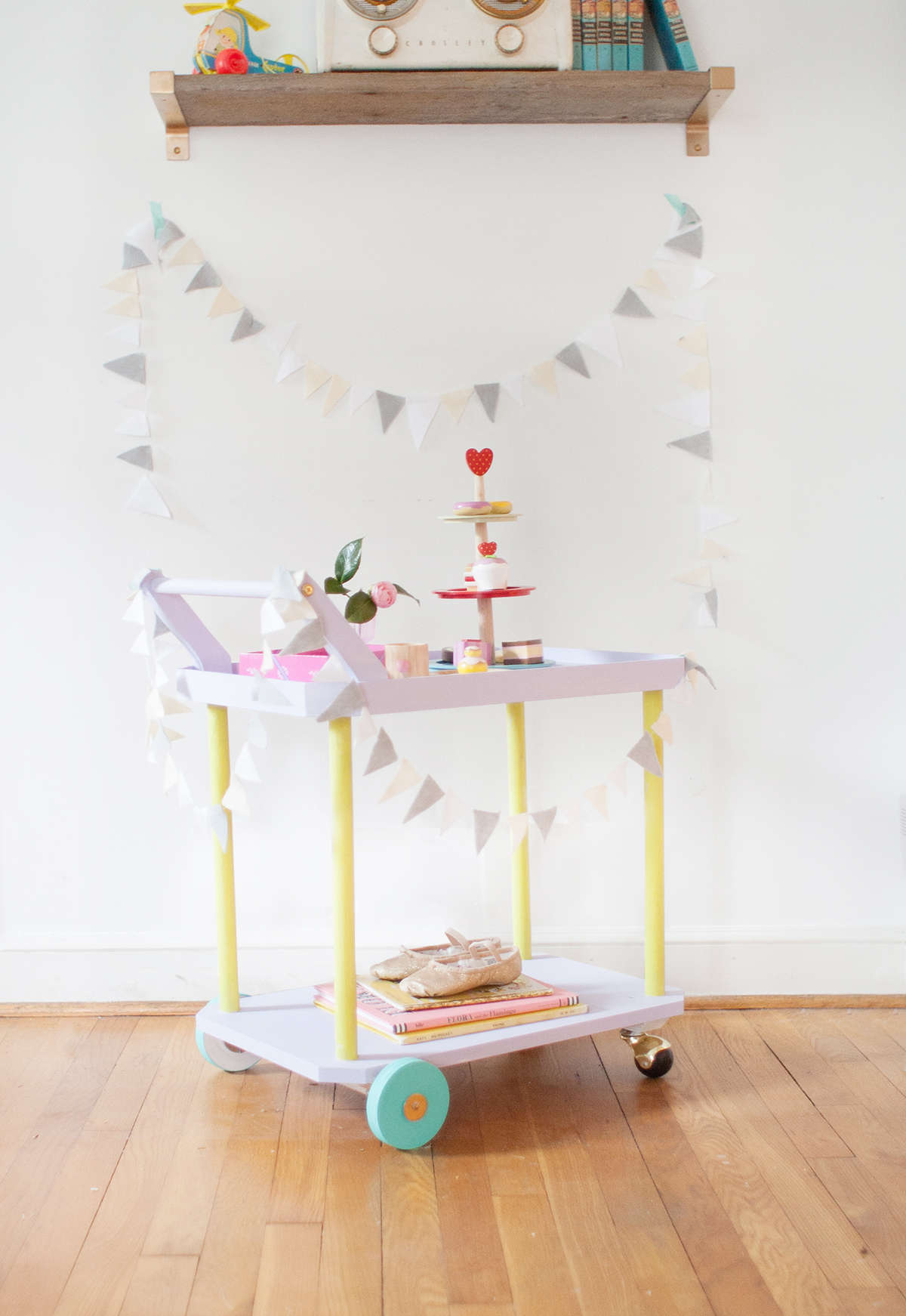 Diy Tea Cart Lay Baby Lay Lay Baby Lay