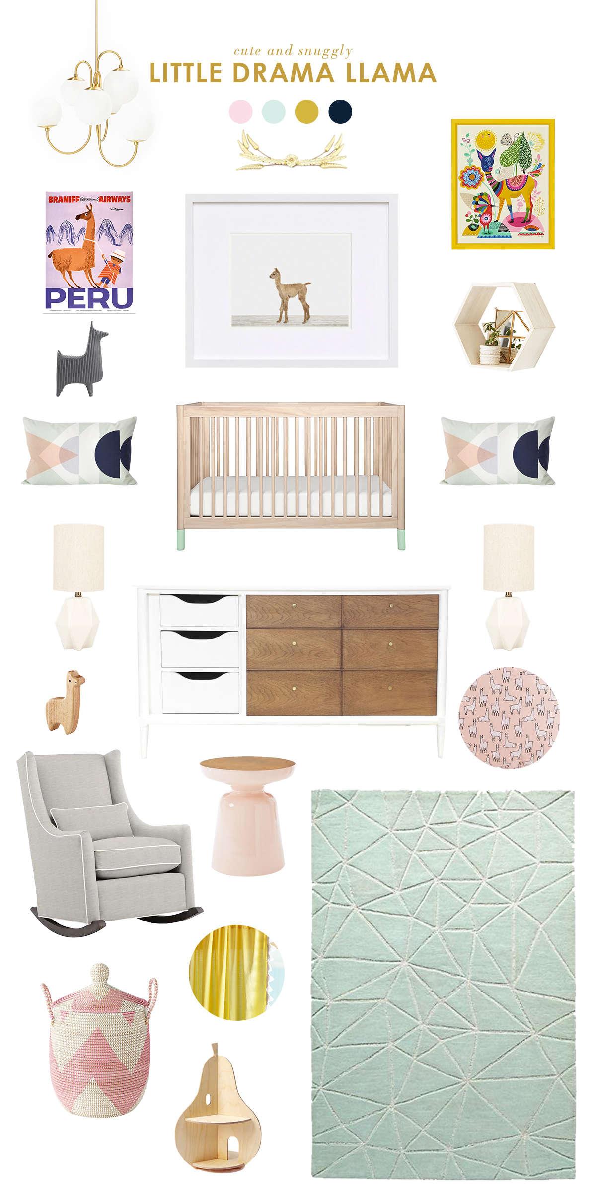 Llama Baby Nursery Ideas Lay Baby Lay Lay Baby Lay