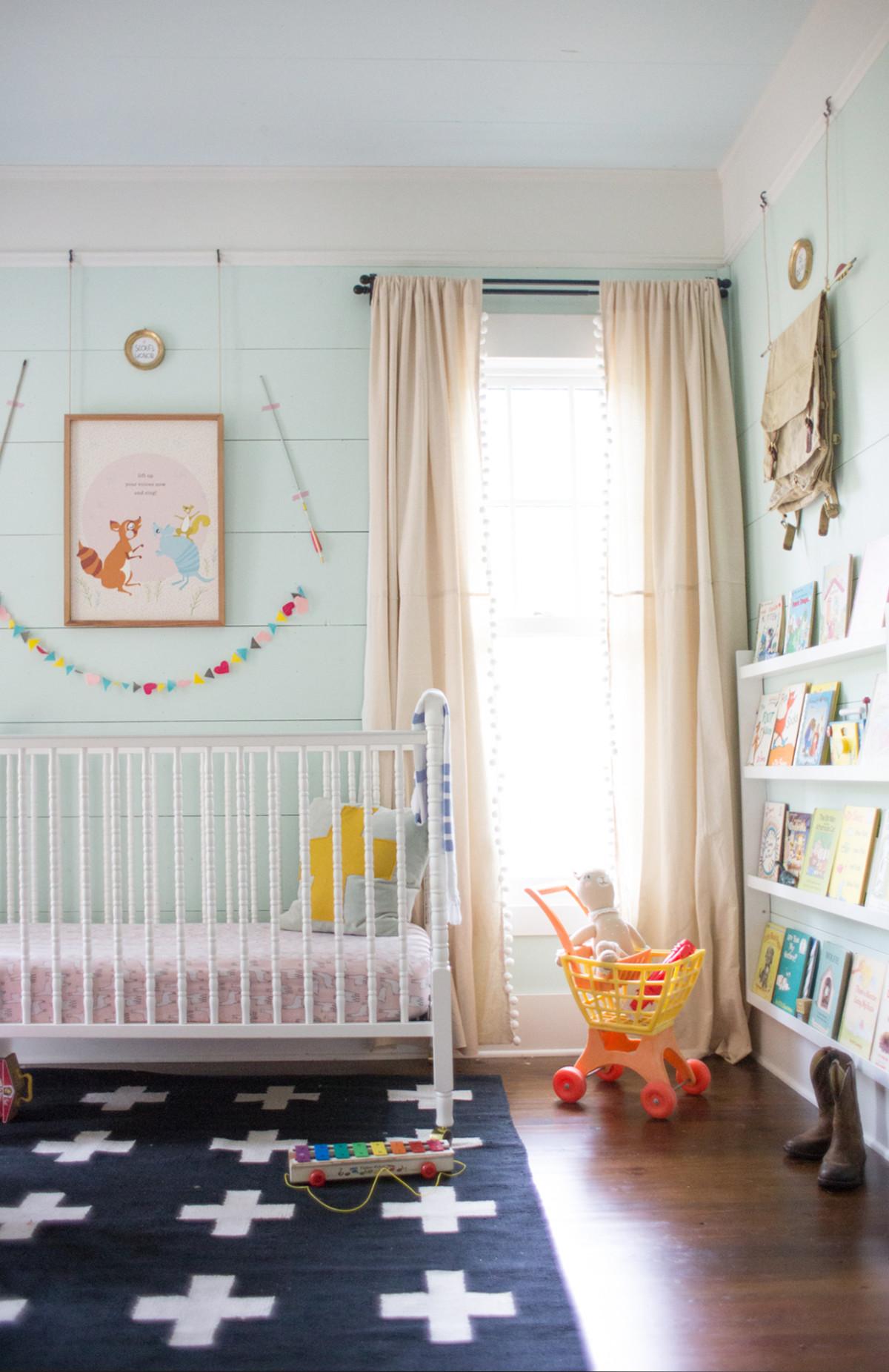 Diy Paint Dropcloth Curtains Lay Baby Lay