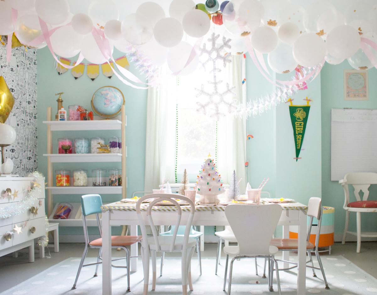 Easy Golden Birthday Party Ideas Lay Baby Lay