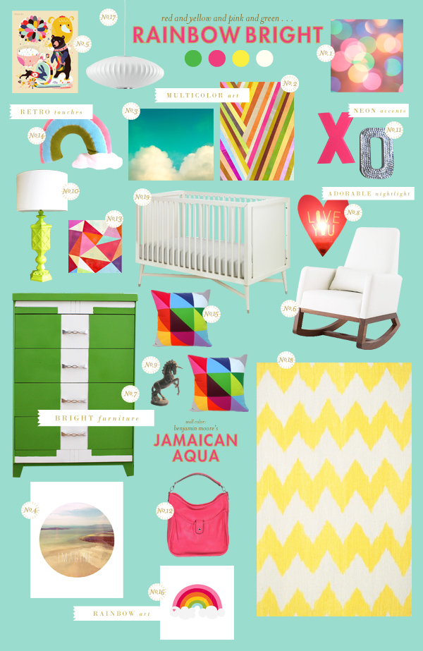 Rainbow Baby Bedroom: Lay Baby Lay Lay Baby Lay