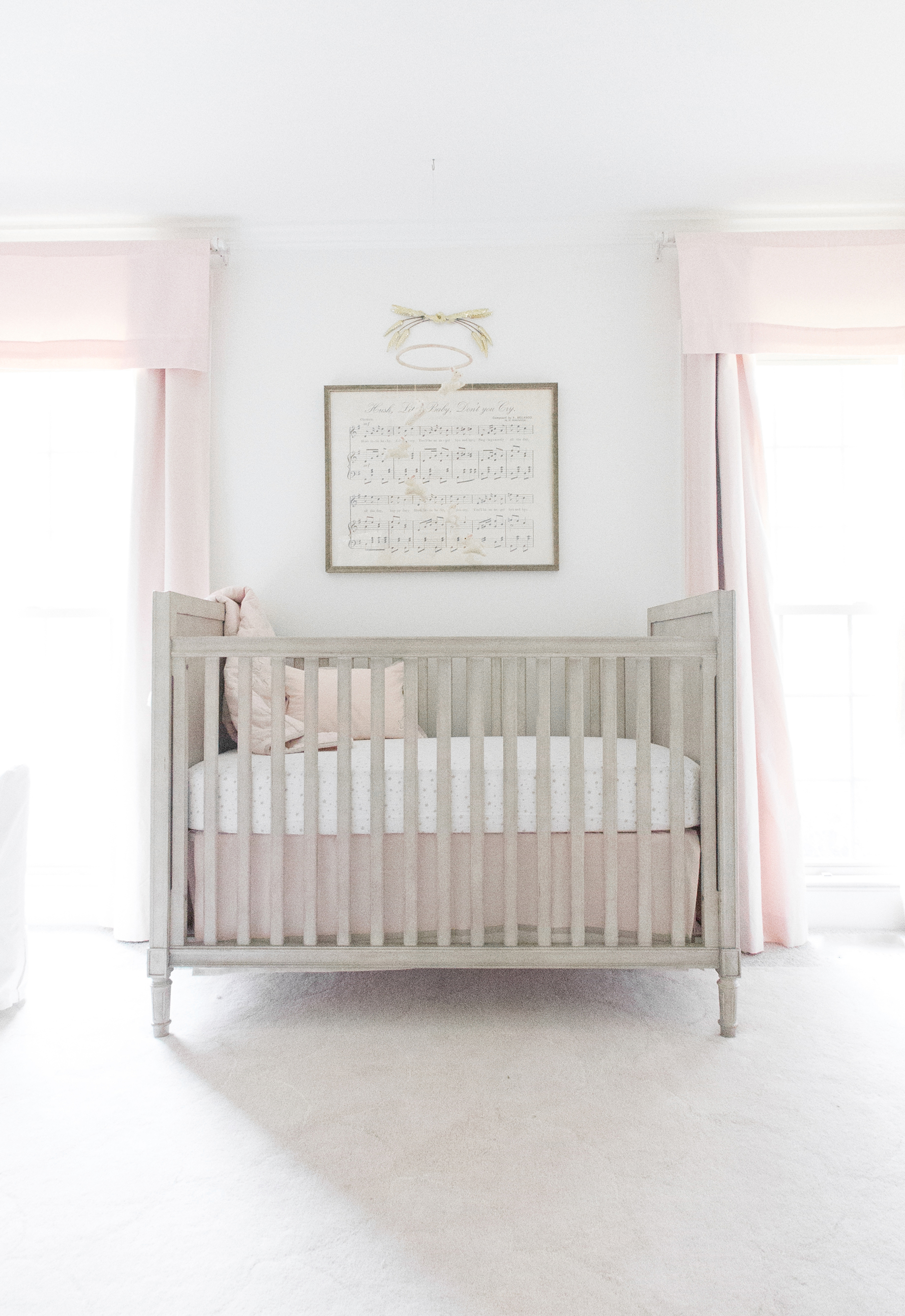 A Classic Polished Pink Nursery For A Baby Girl Lay