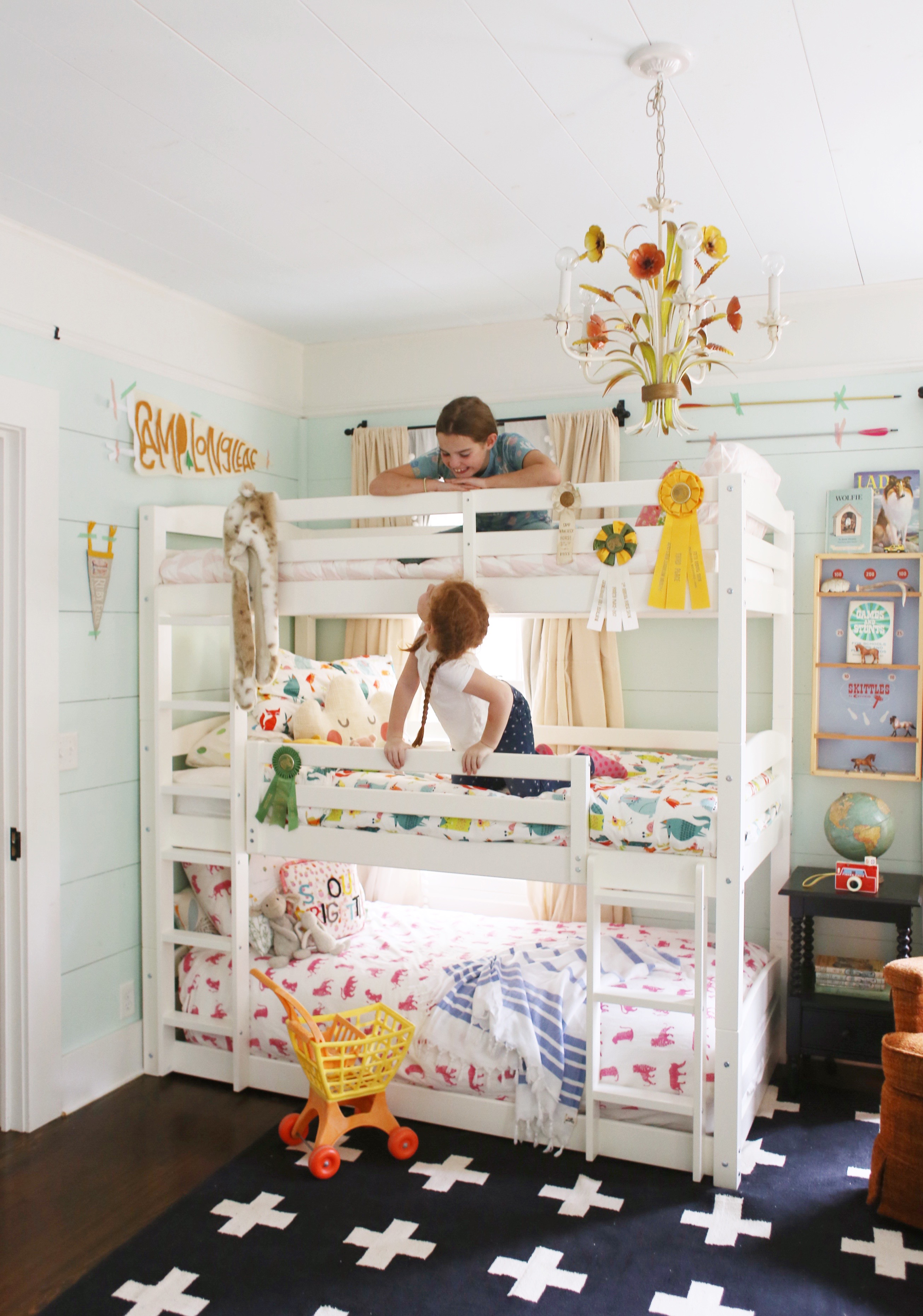 Picture of: Cute Affordable Bunk Beds For A Shared Room Lay Baby Lay