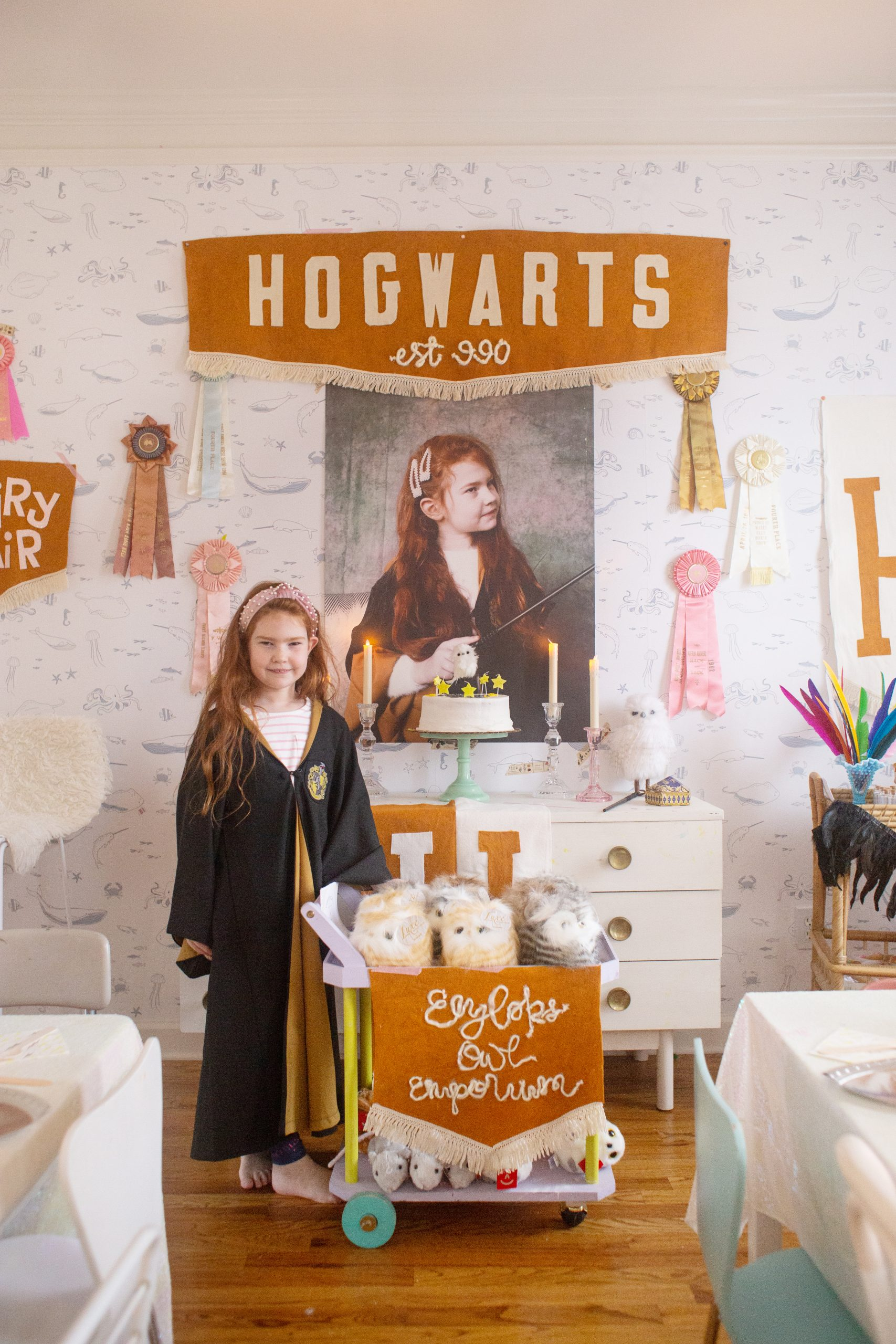 Simple And Kid Friendly Harry Potter Party Ideas Lay Baby Lay