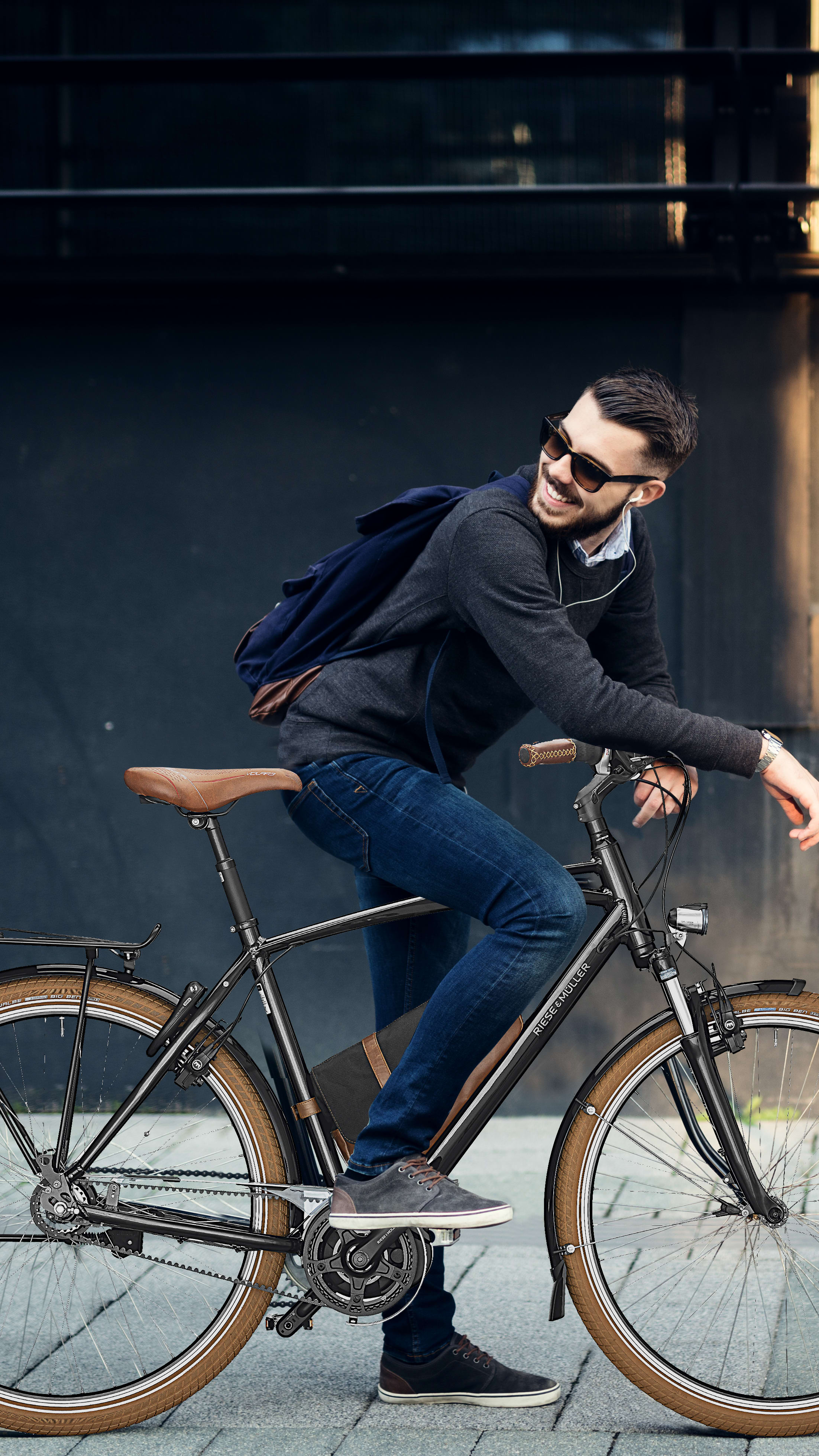 """Register to get help at any time. Please press """"Register your Company ebike"""""""