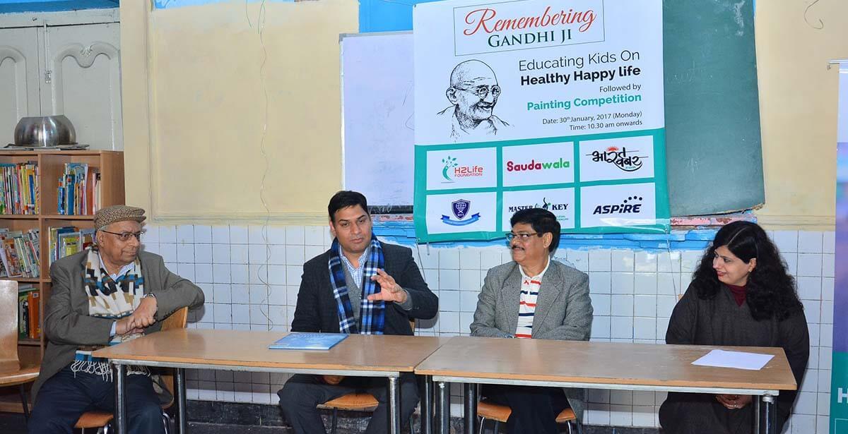 H2 Life Foundation event at Bachon Ka Ghar