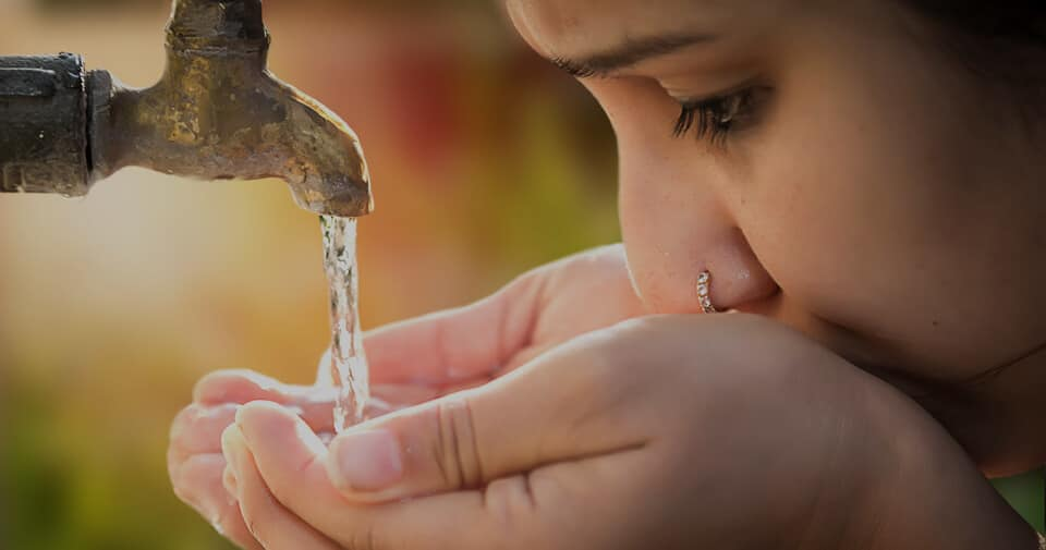 Conserve water for safe drinking water