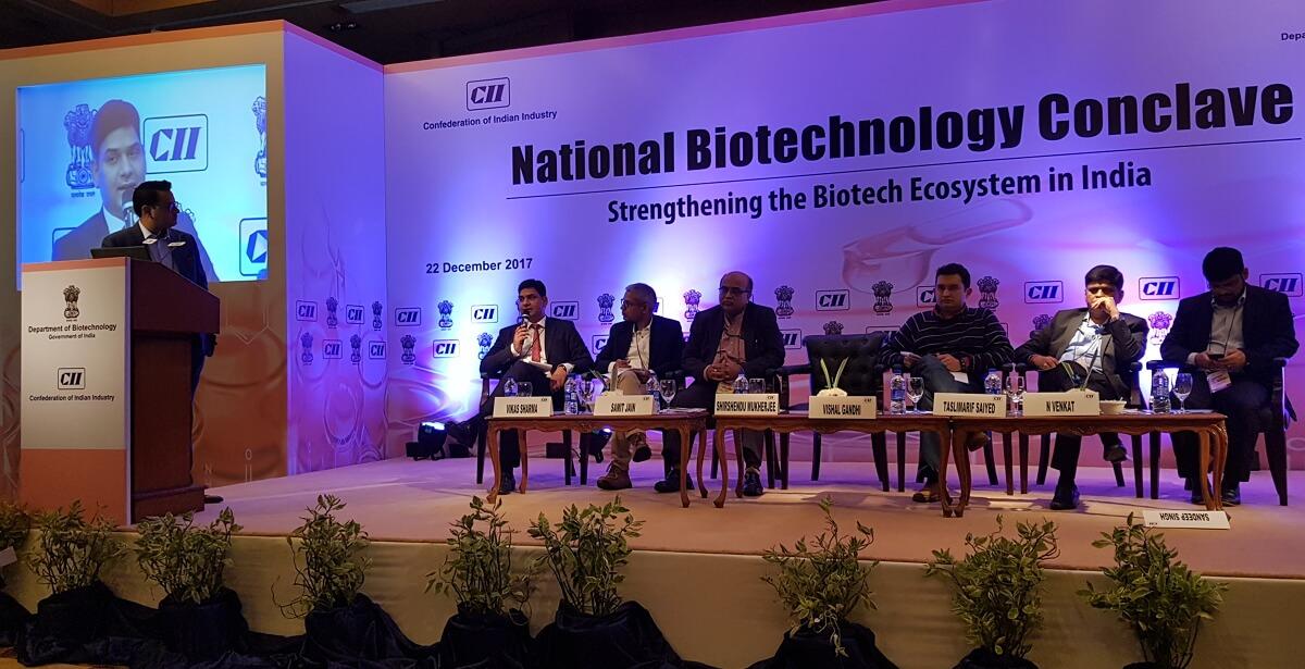 CII National Biotechnology Conclave (Institutional Partner, H2 Life Foundation)