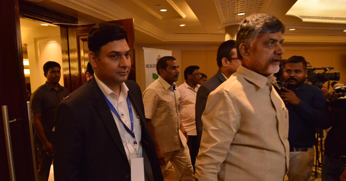 Shri N. Chandra Babu Naidu, Hon'ble Chief Minister of Andhra Pradesh graced the workshop with his presence