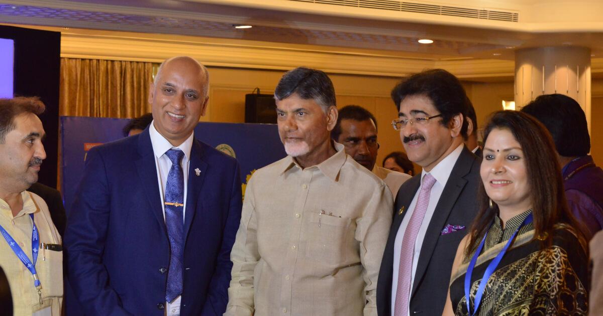 Shri N. Chandra Babu Naidu, Hon'ble Chief Minister of Andhra Pradesh met top investors in Media