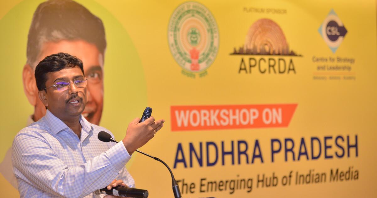 Shri V. Rama Manohara Rao, IRAS, Special Commissioner, APCRDA gave an insightful presentation