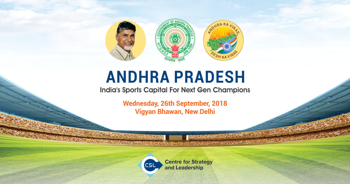 Workshop on: Andhra Pradesh - India's Sports Capital for Next Gen Champions