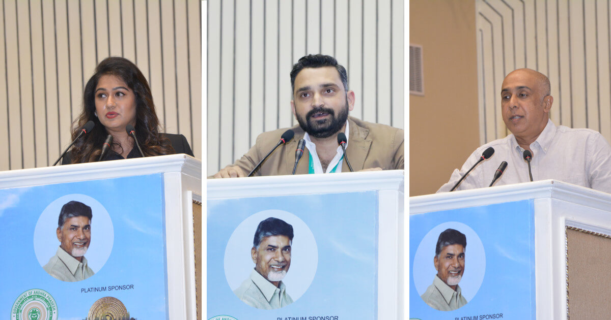 Ms. Kanthi D. Suresh, Editor in Chief, Power Sportz Tv, Mr. Siddhartha Upadhyay, Founder & SG, STAIRS, Governing Body Member SAI, Vasant Bhardwaj, Founding Director Tenvic